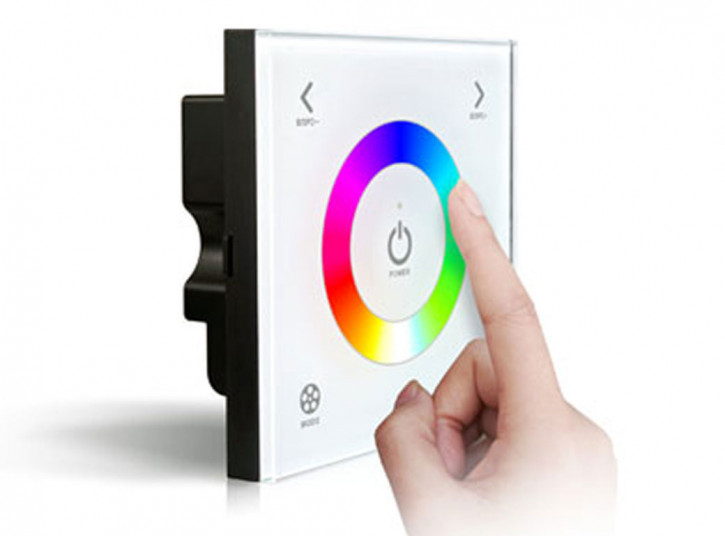 RGB Touch Wall Panel weiss