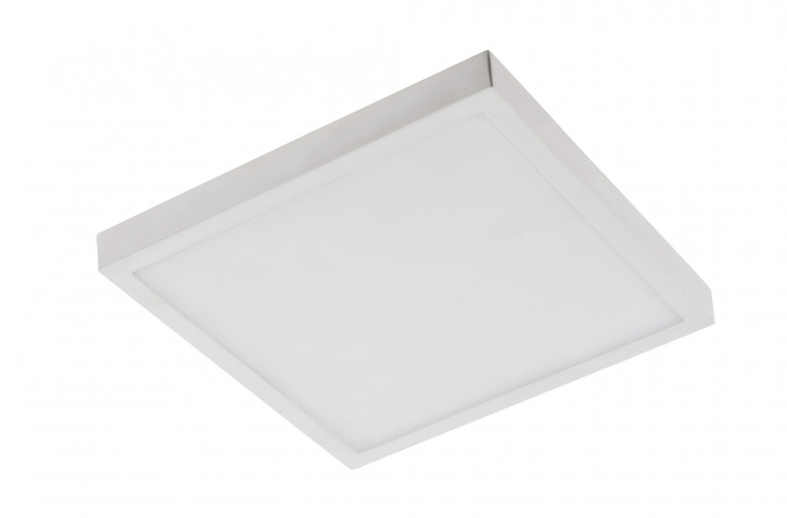 12w LED Aufputz Panel warmweiss eckig